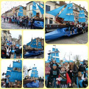 yolette pirate pour le carnaval de Nogent